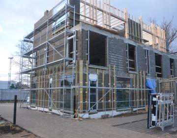 Korterelamu ehitustööd (Ehitusprojekti juhtimine)